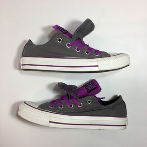 Converse All Star Low Double Tongue Sneakers